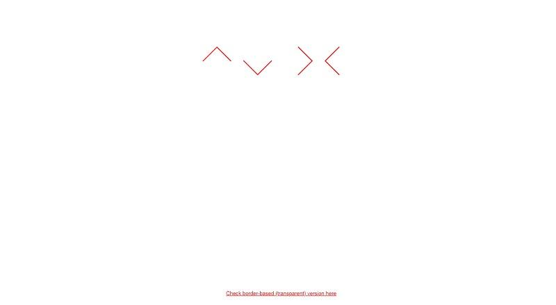 CSS Arrow LESS Mixin