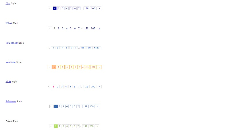 CSS Pagination Styles2