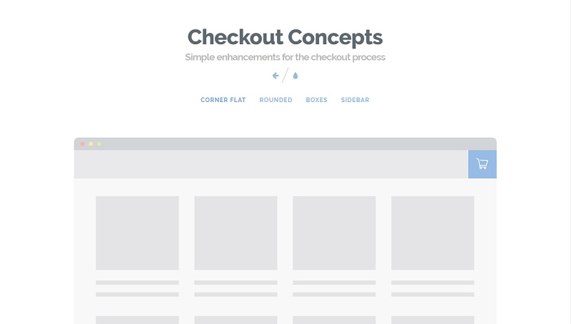 Checkout Effects with CSS3