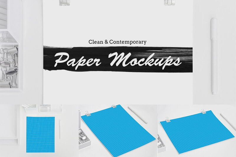 Clean and Contemporary Paper