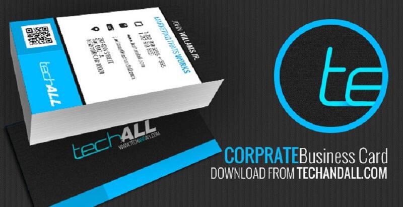 Corprate Business card .PSD Template