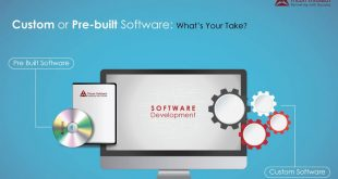 Custom Software and Pre-Built Software