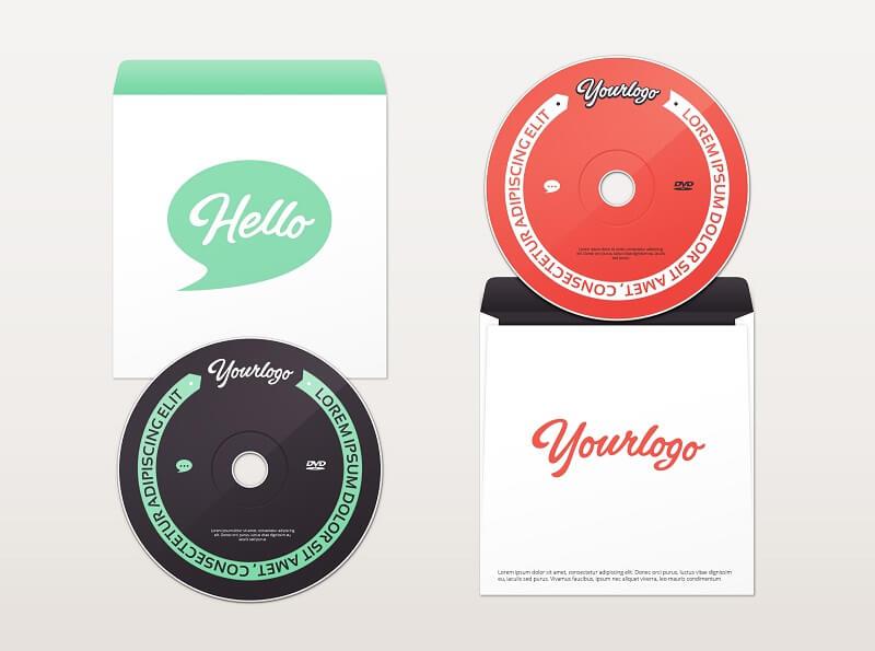 DVD & Envelope MockUp