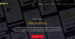 Electronics Shopify Themes