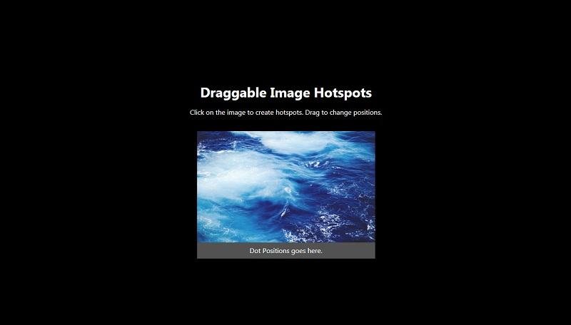 Draggable Image Hotspots