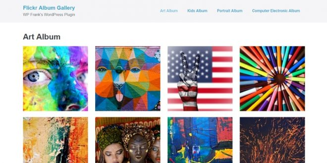 Free WordPress Flickr Plugins