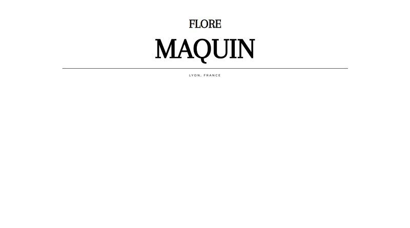Flore Maquin, Designer
