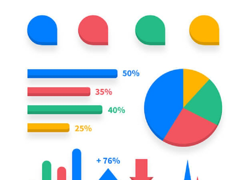 Infographic Elements Vector PSD
