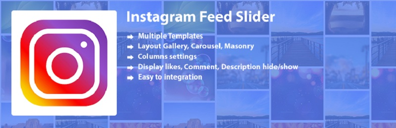 Instagram Feed Slider