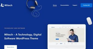 Best Mobile Application WordPress Themes