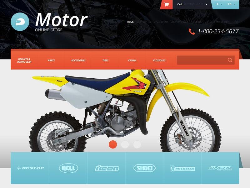 Motor Online Store