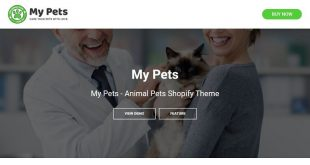 Pet Animals Shopify Themes