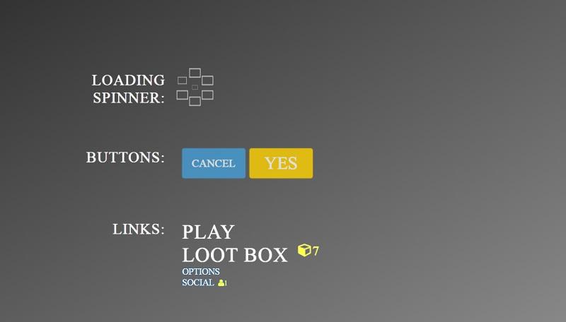 Overwatch UI Kit