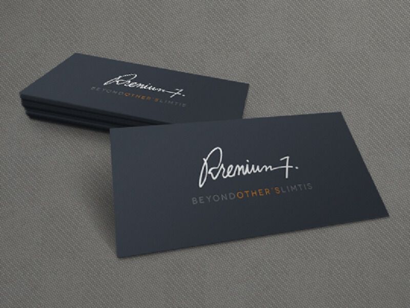 Perspective 3d business card