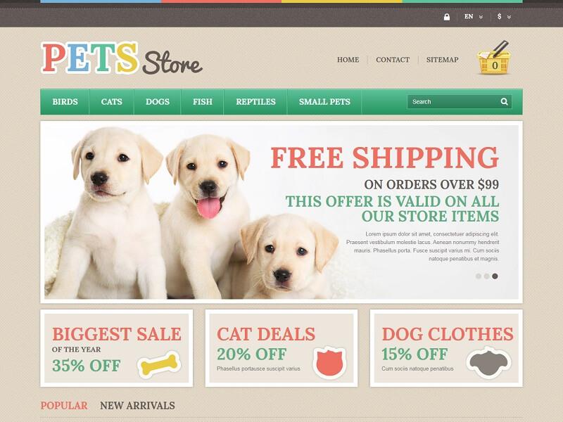 Pets Store