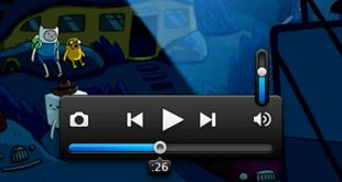 Free Video Player PSD Templates