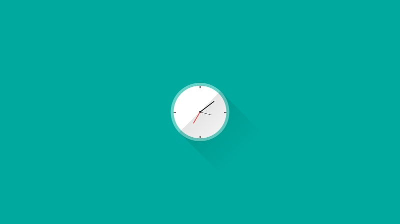 Pure CSS Clock (animated)