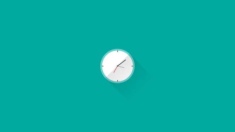 Pure CSS Clock (animated)
