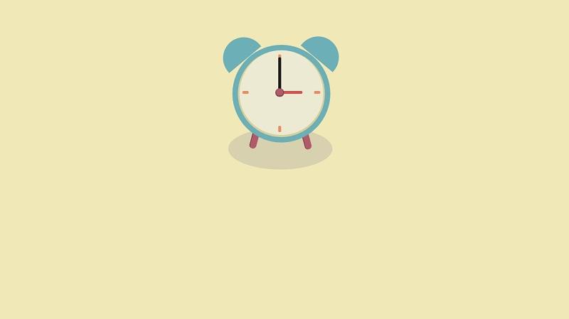 Pure CSS Clock