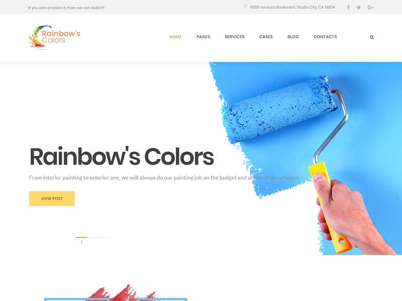 Rainbow's Colors