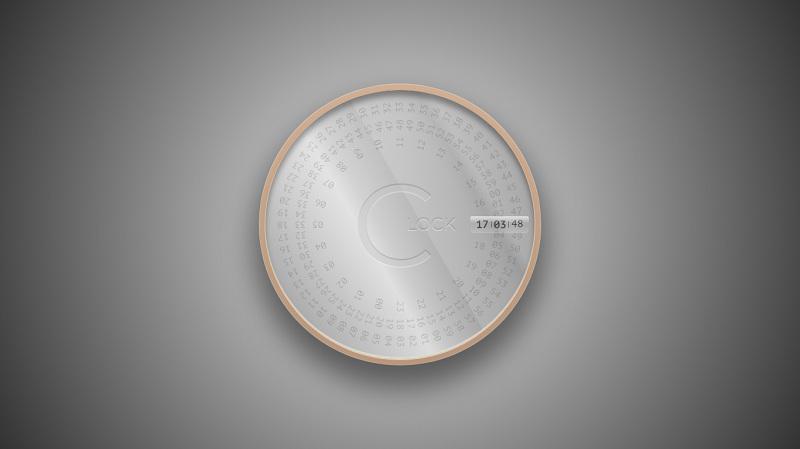Rotating Clock