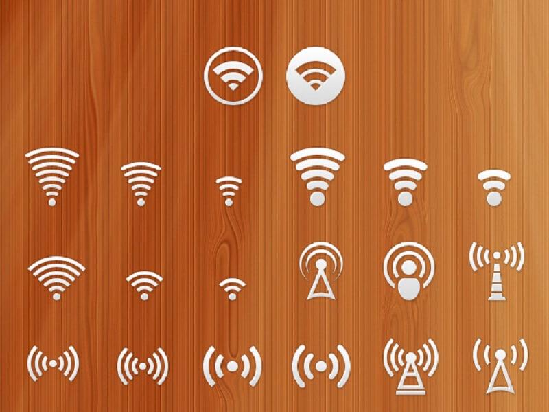 Signal PSD Icon Set