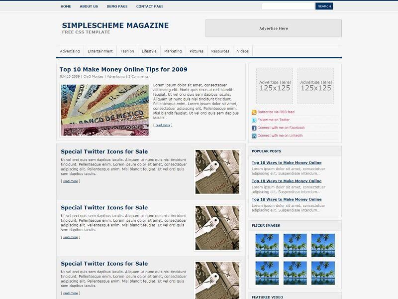 Simple Scheme Magazine