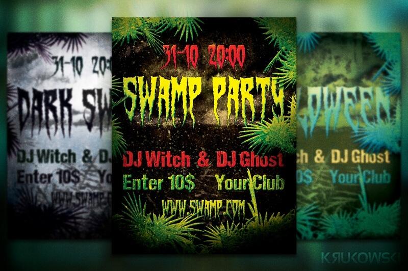 Swamp Flyer/ Poster