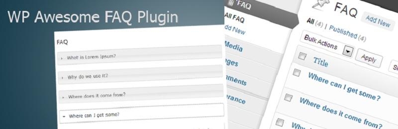 WP Awesome FAQ Plugin