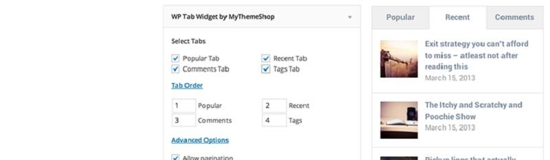 WP Tab Widget