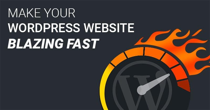 How to Speed Up Your WordPress Website - ventasoftware