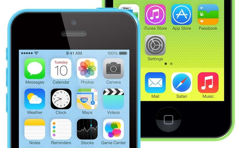 iPhone 5c PSD