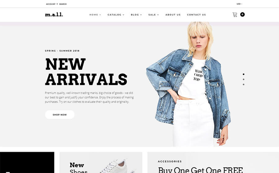 m.a.l.l. - Clothing Store