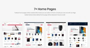 Electronics PrestaShop Themes