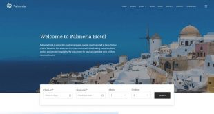 Free Hotel WordPress Themes