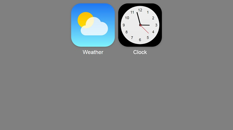 Weather & Clock iOS7 Icons in CSS