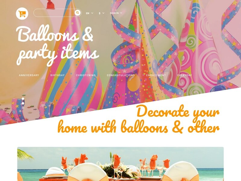 Balloons & Party Items