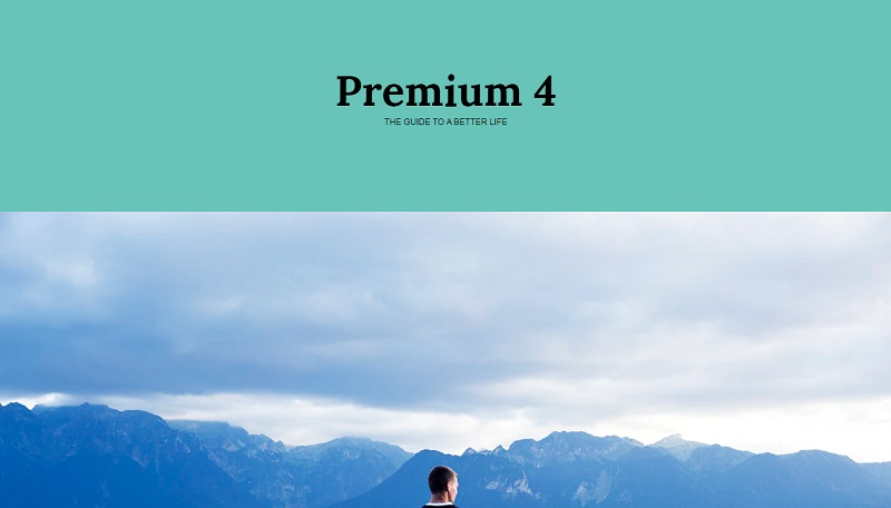 Premium Magazine Layout
