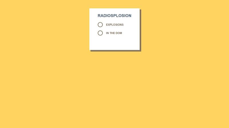 Radiosplosion