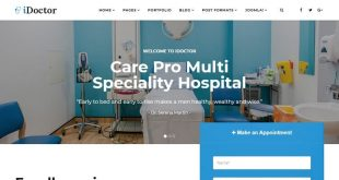 Healthcare Joomla Themes