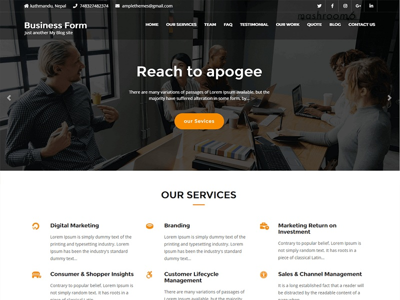 10+ Best Free One Page WordPress Themes 2019 | Ventasoftware