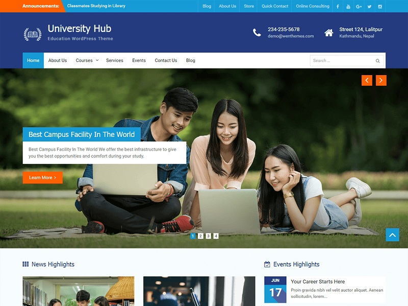 University Hub