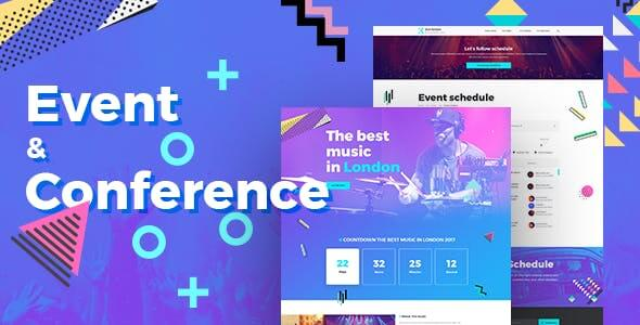 80+ Best Entertainment PSD Templates 2019