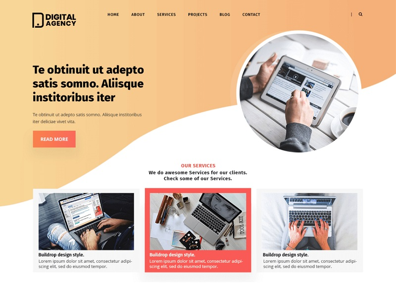 Digital Agency Lite