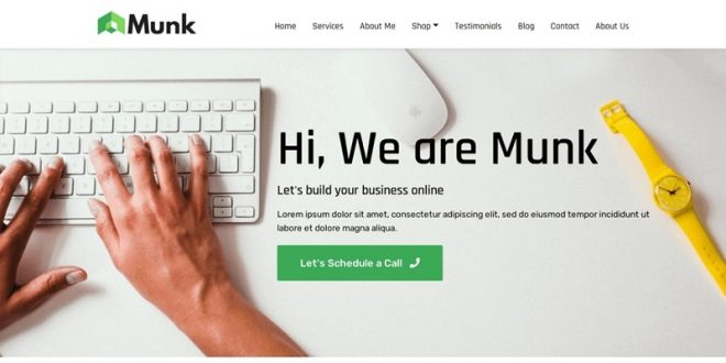 24 Best Free Business WordPress Themes 2021
