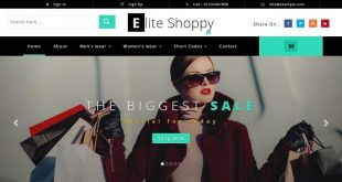 Free eCommerce Html website Templates