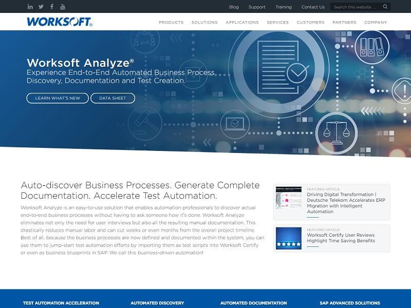 Worksoft Analyze