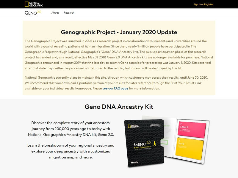 Genographic Project