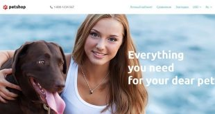 Pets OpenCart Website Templates