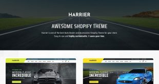 Bikes Shopify Website Templates